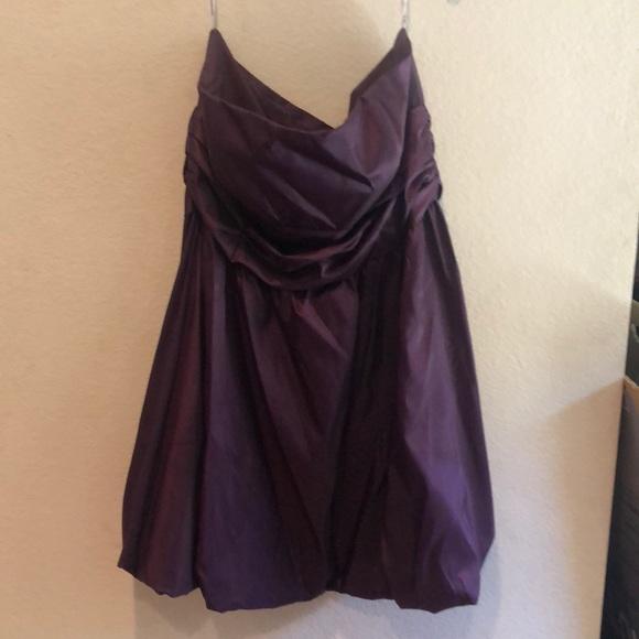 David's Bridal Dresses & Skirts - David's Bridal Plus Size Eggplant Dress